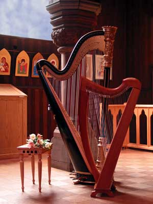 celtic and concert harps